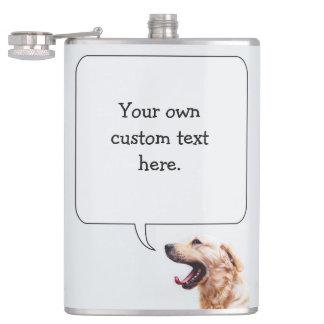 おもしろい犬の習慣のフラスコ フラスク