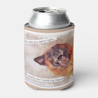 おもしろい犬の飲み物 缶クーラー