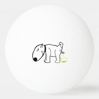 おもしろい犬小便をするポーンまたはビールPongの球 ピンポン球