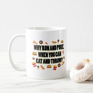 おもしろい砲丸投げ、円盤投げ選手のマグのギフト コーヒーマグカップ