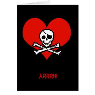 おもしろい私をHeartieのバレンタインカード略奪して下さい カード