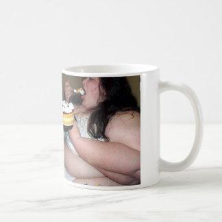 おもしろい脂肪質のSlobの喜劇のコーヒー・マグを儲けて下さい コーヒーマグカップ