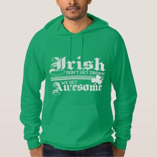 おもしろい! アイルランド語は飲まれて得ません! パーカ