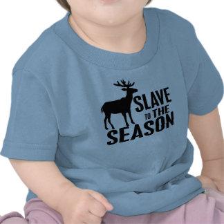 おもしろい シカ ハンター シャツ