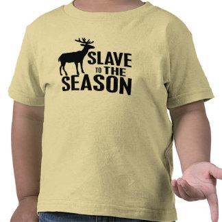 おもしろい シカ ハンター T シャツ