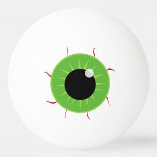 おもしろい-ゾンビは行方不明の目の先頭に立ちます、 卓球ボール