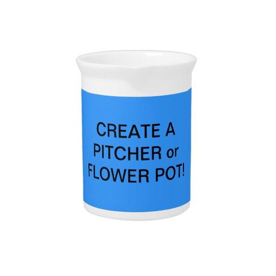 おもしろい! 花のつぼか水差しを作って下さい! ドリンクピッチャー