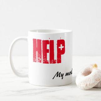 おもしろマグカップ-助け! 私の母会計士 コーヒーマグカップ