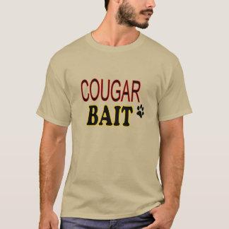 おもしろTシャツのクーガーの餌 Tシャツ