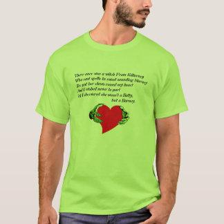 おもしろTシャツのハートの爪愛破壊のトランス・ジェンダー Tシャツ
