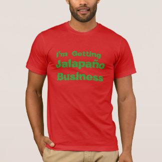 """おもしろTシャツ""""ハラペーニョBussiness """" Tシャツ"""