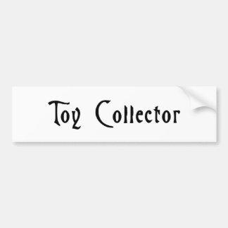 おもちゃのコレクター(の恐怖気味悪い) バンパーステッカー