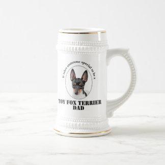 おもちゃのフォックステリア犬のパパステイン ビールジョッキ