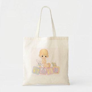 おもちゃのブロックのかわいいベビー トートバッグ