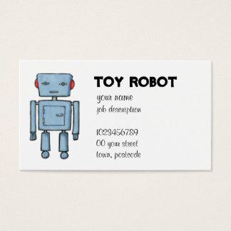 おもちゃのロボット名刺 名刺