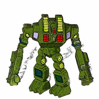 おもちゃのロボット彫刻 写真彫刻オーナメント