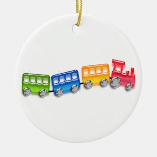 おもちゃの列車 セラミックオーナメント