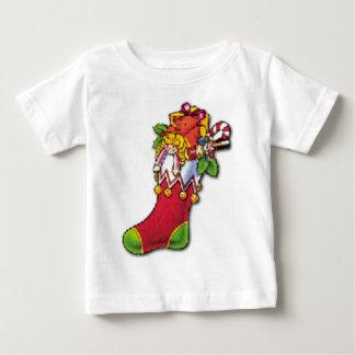 おもちゃの十分に貯蔵するヴィンテージのクリスマス ベビーTシャツ