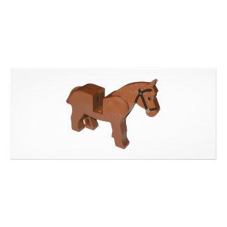 おもちゃの煉瓦馬 ラックカード