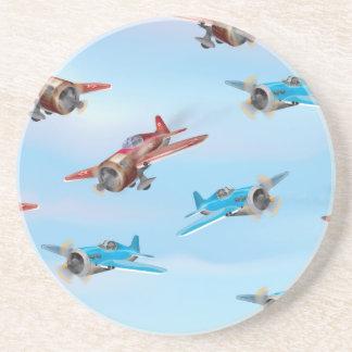 おもちゃの飛行機 コースター