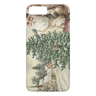 おもちゃ教会のサンタクロースのクリスマスツリー袋 iPhone 8 PLUS/7 PLUSケース