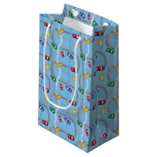 おもちゃ車トラック小さいギフトバッグ スモールペーパーバッグ