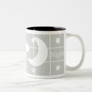 おやすみなさいのマグ ツートーンマグカップ
