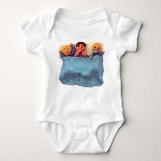 おやすみなさいの乳児のクリーパー ベビーボディスーツ