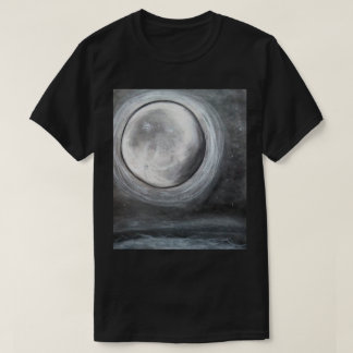 おやすみなさいの月のTシャツ Tシャツ