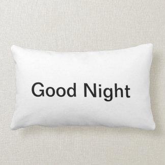 おやすみなさいの枕 ランバークッション