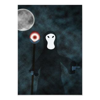 おやすみなさいの死神の招待状 カード