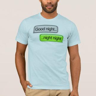 おやすみなさい夜 Tシャツ