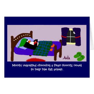 おやすみなさい カード