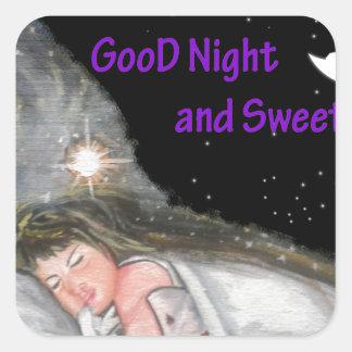 おやすみなさい スクエアシール