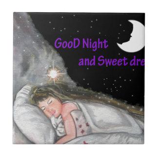 おやすみなさい タイル