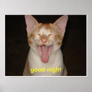 おやすみなさい ポスター