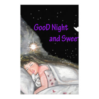 おやすみなさい 便箋