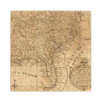 およびノースカロライナバージニア州の地図 ウッドコースター