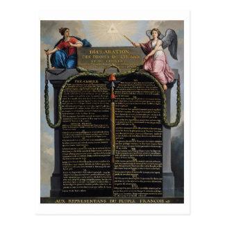 および市民人権の宣言 はがき