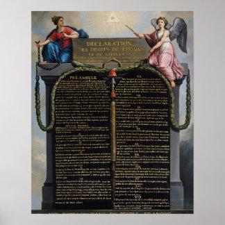 および市民人権の宣言 ポスター