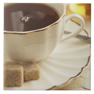 および砂糖コーヒー タイル