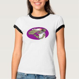 おりの女性信号器のワイシャツ Tシャツ