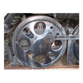 お偉方はTurninの鉄道エンジンで保ちます ポストカード