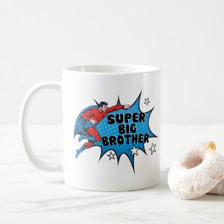 お兄さんになっているスーパーヒーロー コーヒーマグカップ
