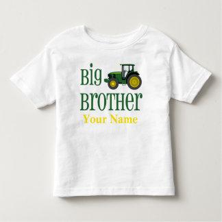 お兄さんのトラクターの名前入りなTシャツ トドラーTシャツ