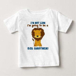 お兄さんのライオン ベビーTシャツ