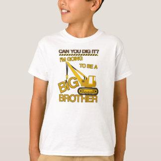 お兄さんの建築のワイシャツがあることを行くIm Tシャツ