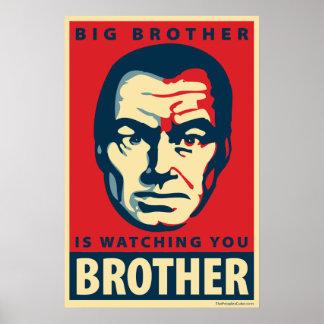 お兄さんは-見ています: OHPポスター ポスター