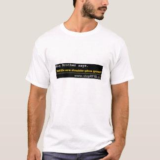 お兄さんはRFIDsがよいよ二重とあることを言います! Tシャツ