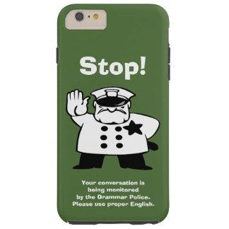 お兄さん文法警察 TOUGH iPhone 6 PLUS ケース